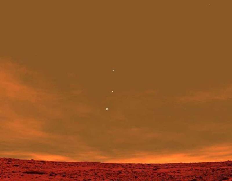Снимок Марса вирусные фотографии, обман, фото, фотошоп