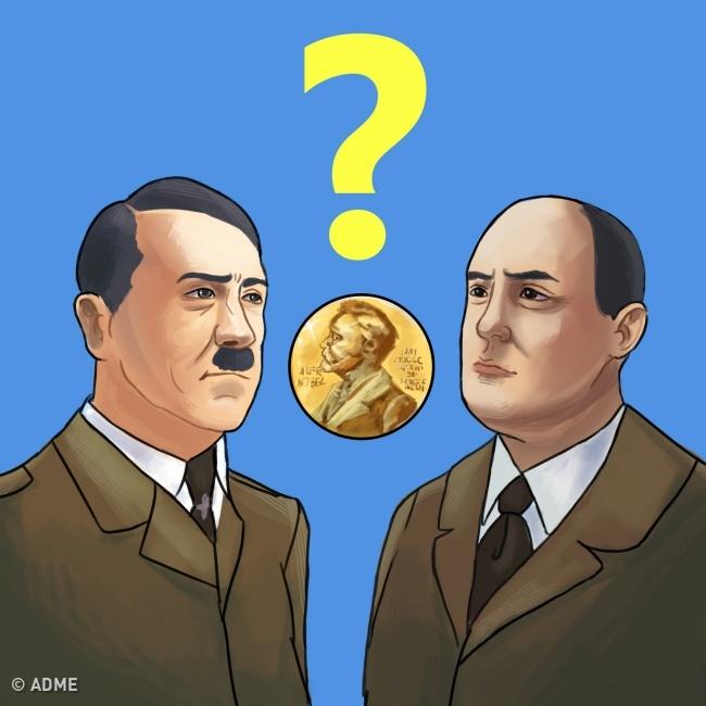 8 вопиющих случаев вручения Нобелевской премии