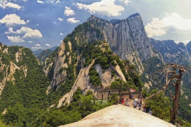 Западная гора Хуа-Шань (Mount Hua или Hua Shan)