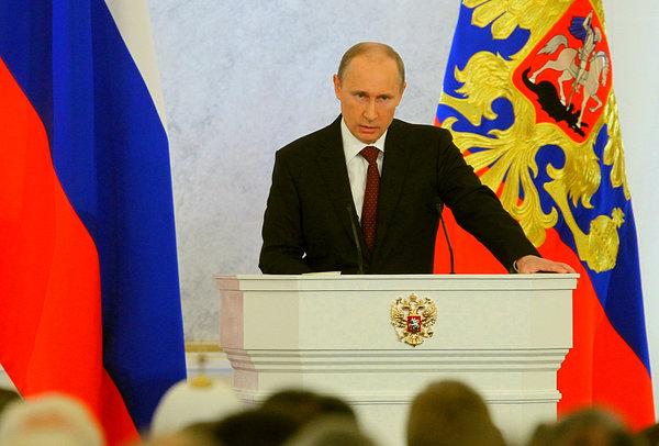 «Послание Путина ужаснуло Запад» - американские СМИ о послание президента Федеральному собранию