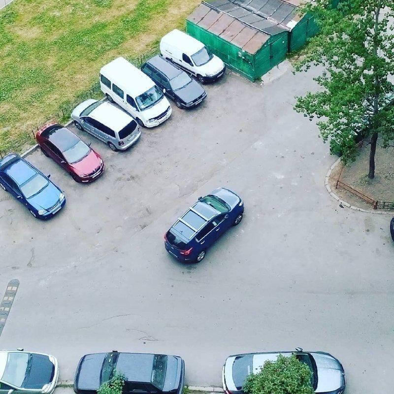 Он не едет, он припарковался автомир, мне так удобно, олени, парковка, плевать на всех