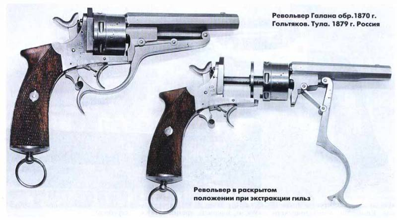 Русский Галан (Galand Revolver Russian contract and Galand Revolver N.I. Goltiakoff in Toula)