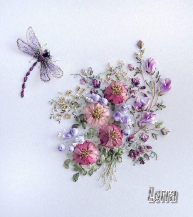 Gallery.ru / Фото #41 - Вышивка лентами - Lorra58