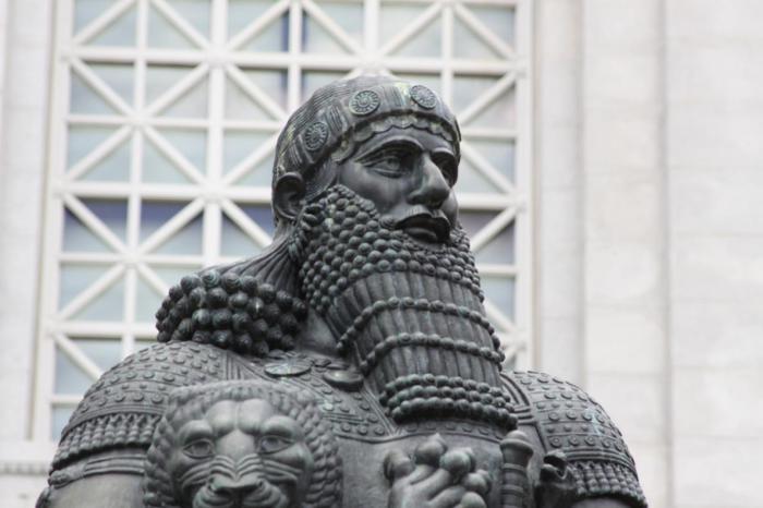 Вавилонский царь Хаммурапи.