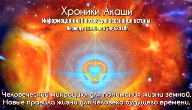 Хранители Вселенских знаний. Информационный поток от 31.08.18г.