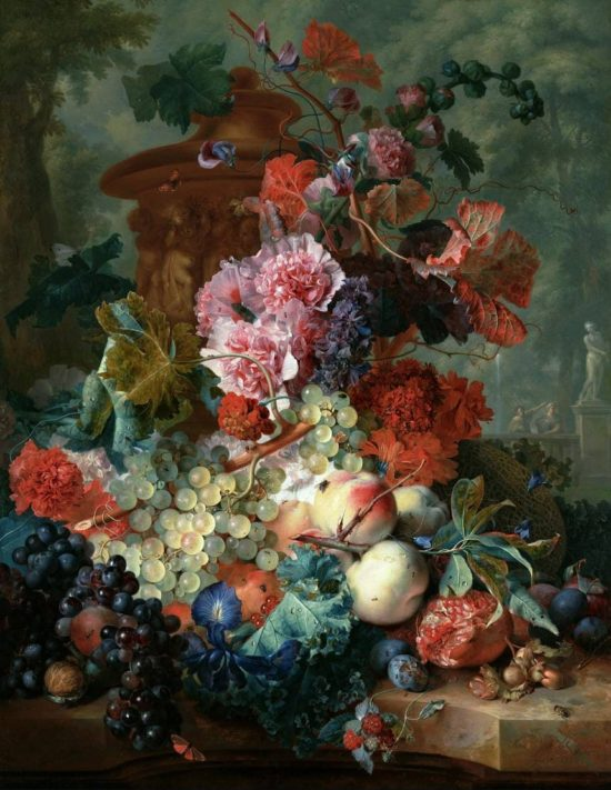 художник Ян ван Хёйсум (Jan Van Huysum) картины - 09