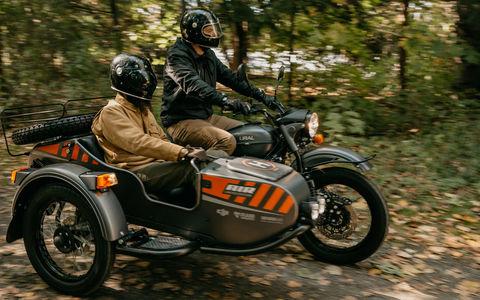 Урал Air: первый мотоцикл с дроном