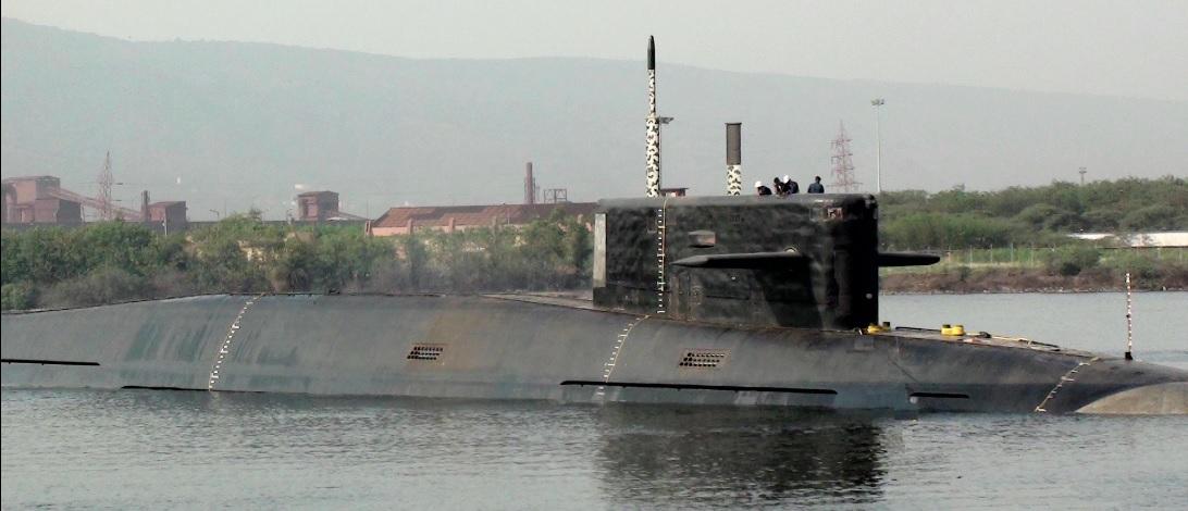 Спущена на воду вторая индийская атомная подводная лодка
