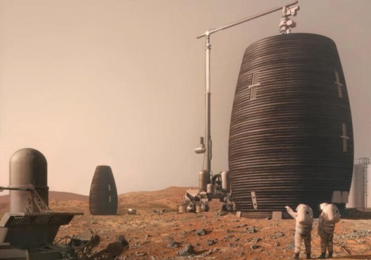 Итоги конкурса NASA: так будет выглядеть марсианская колония