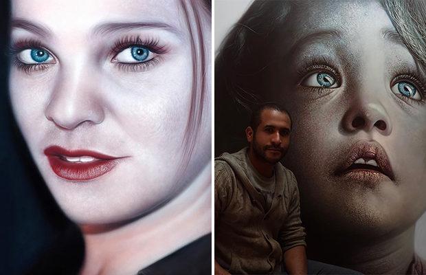 Картины доминиканского художника легко спутать с фото