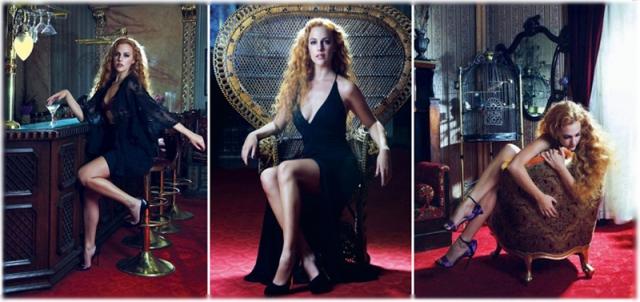 Мерьем Узерли (Хюррем из «Великолепного века») – женщина года 2012 по версии турецкого GQ.