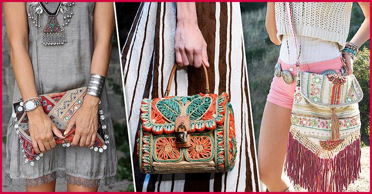"""Стиль """"Бохо"""": 20 самых модных и необычных сумок сезона"""
