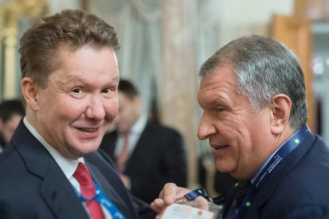 Кому принадлежат Газпром, Роснефть и Сбербанк?