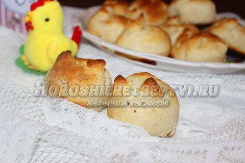 Пасхальные булочки рецепт 3