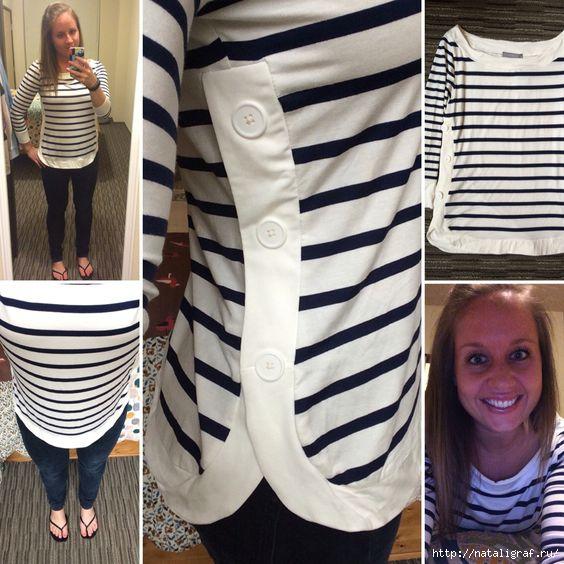 Приятные идеи для обновления блузок и футболок - готовимся к лету