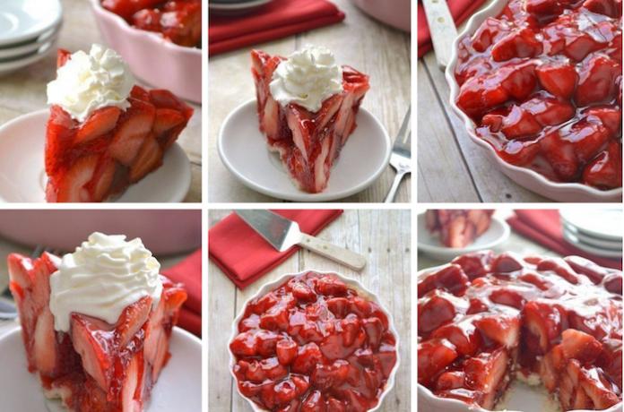 Клубничный пирог! Такой нежный вкус…Невозможно устоять!