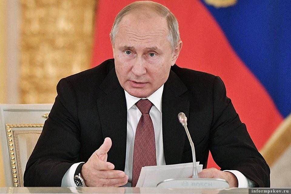Путин: Мы не должны ждать «п…