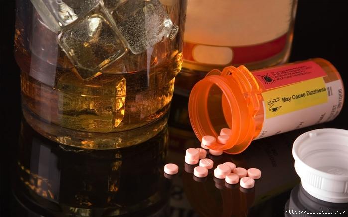 ХИЖИНА ЗДОРОВЬЯ. Почему алкоголь нельзя пить одновременно с приёмом лекарственных препаратов