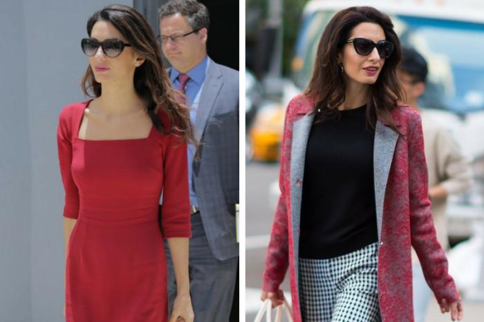 Как выбрать стильные солнцезащитные очки: 6 идеальных моделей на примере Амаль Клуни