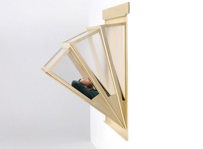 Вот «окно в небо» для тех, у кого квартира без балкона!