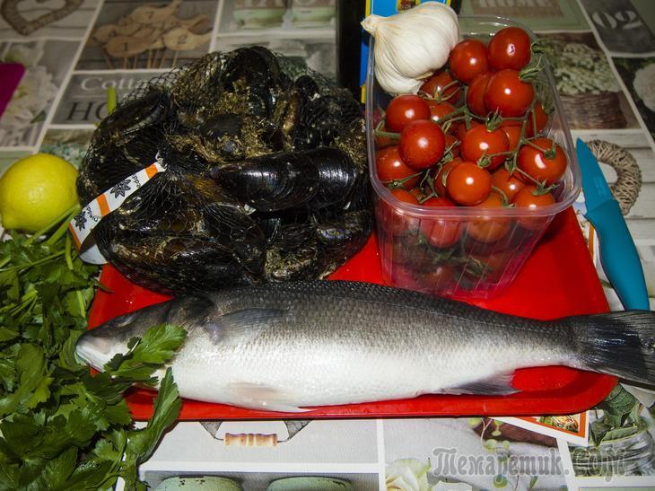 Очередной рецепт с рыбой