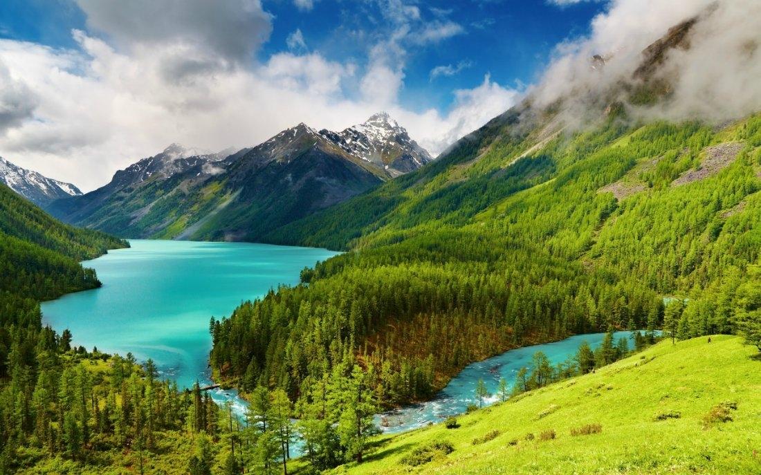 Кучерлинское озеро, Республика Алтай.