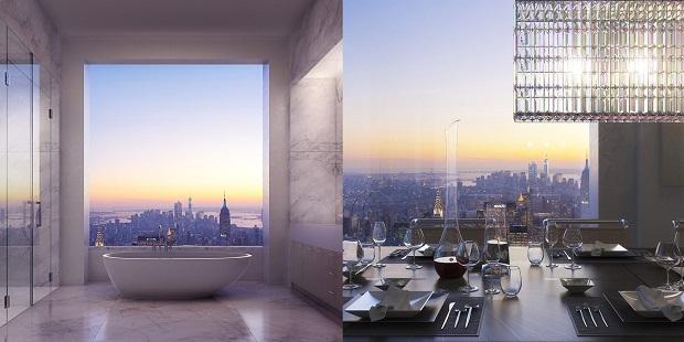 Как выглядит квартира за 95 миллионов долларов