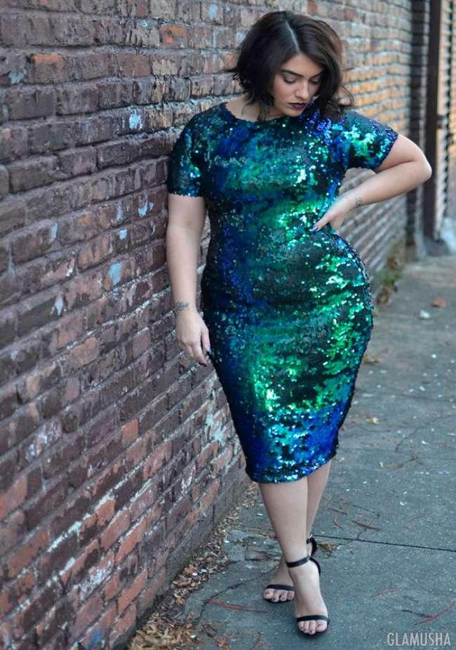 Платья для полных женщин: фасоны, которые шикарно смотрятся на фигуре