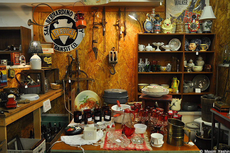 Antiques shops 22 Антикварные магазины в США
