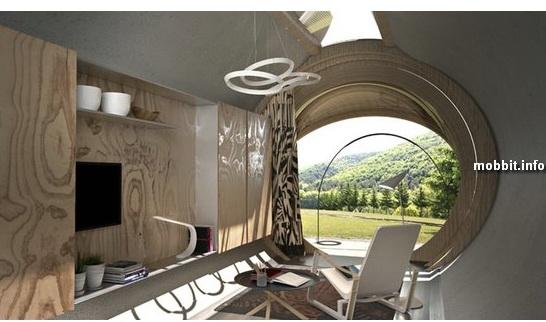 IN-TENTA DROP – концепт экологичного модульного отеля