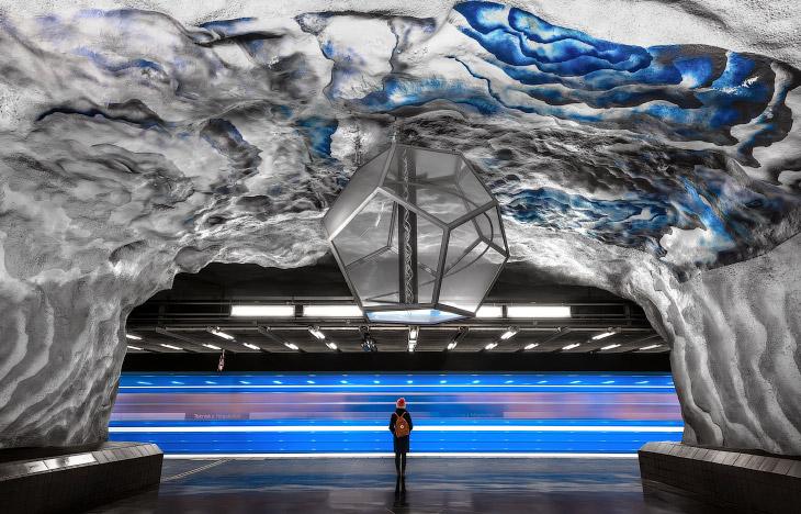 Прогулка по Стокгольмскому метро