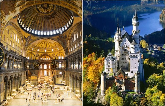 25 самых замечательных мест Европы, куда хочется возвращаться снова и снова