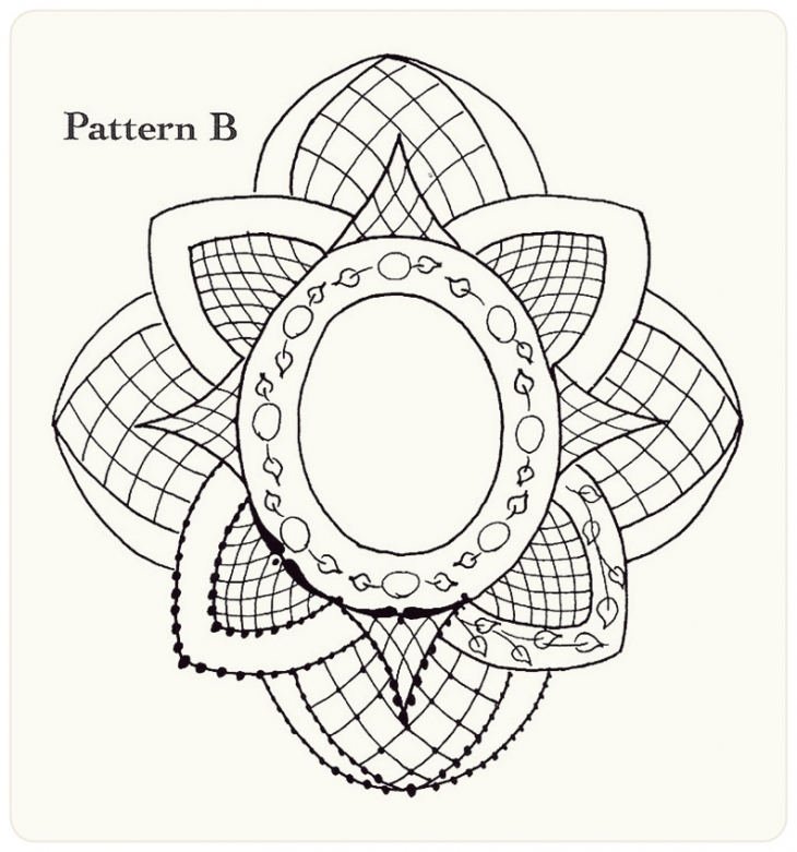 Как рисуют кружево