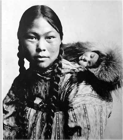 инуитская женщина
