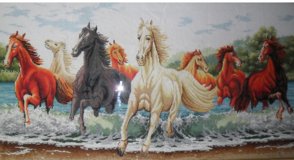 кони бегущие по волнам