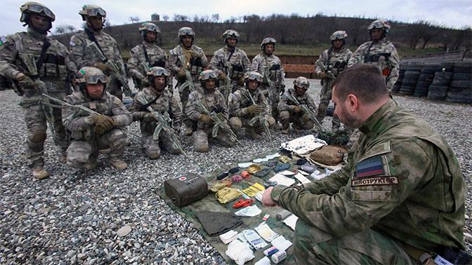 Как чеченский спецназ освобо…