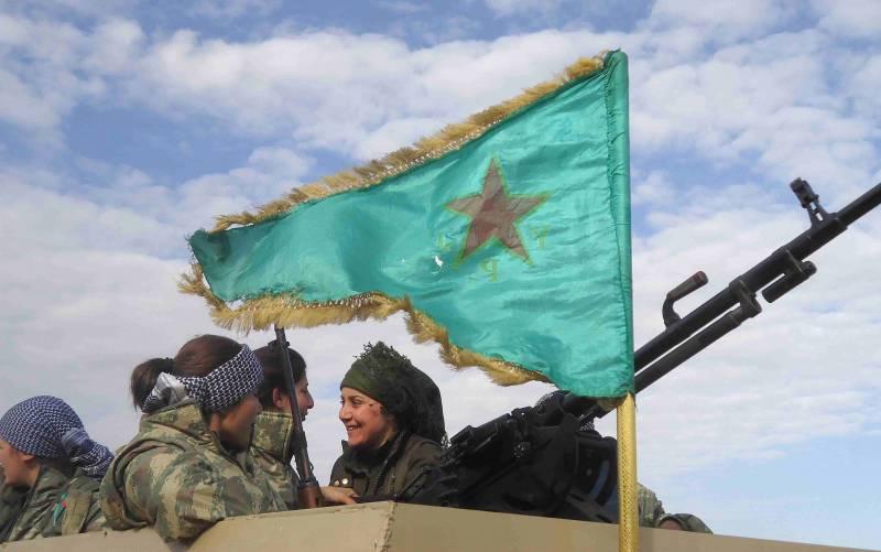 В Западной коалиции не стали уточнять данные о поставленном курдам вооружении