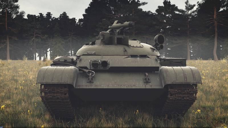 Советские ракетно-пушечные танки