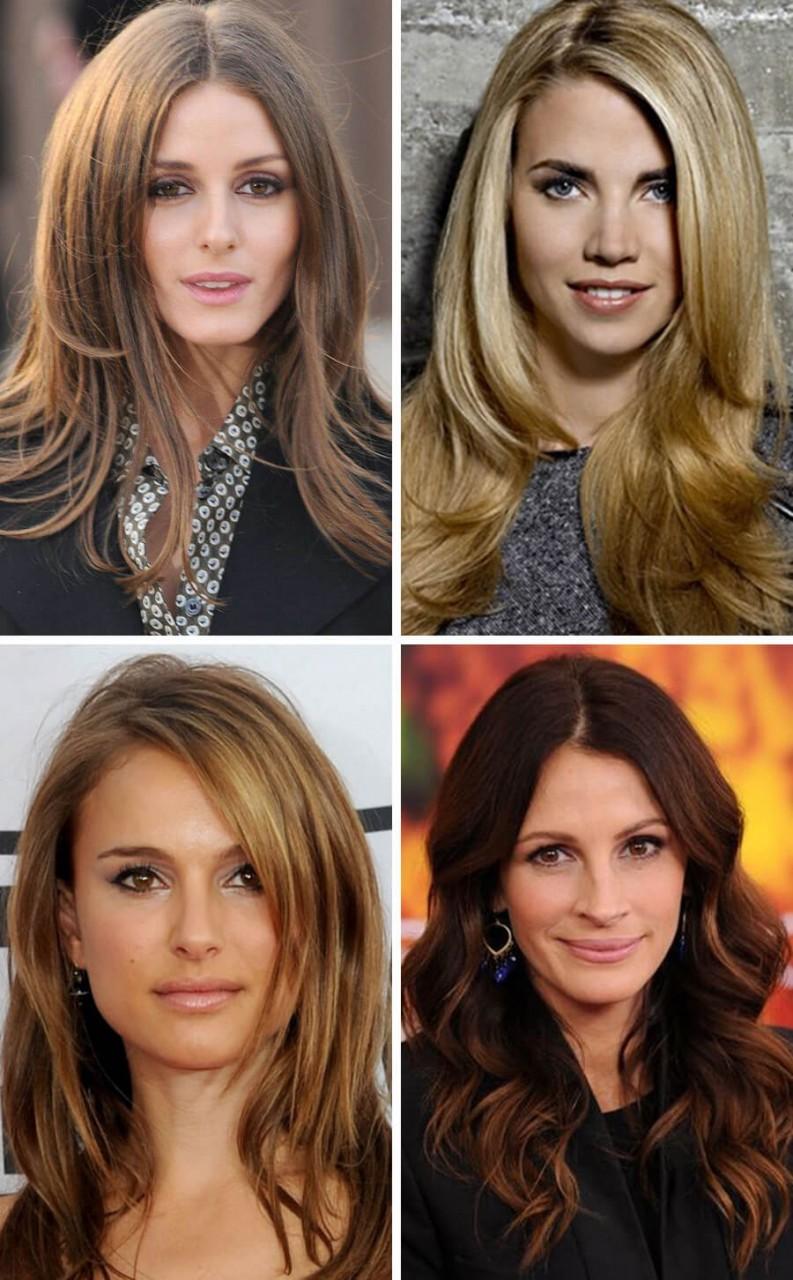 Каскад на средние волосы 201…