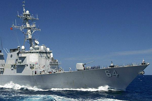 Эсминец ВМС США вошел в Черное море