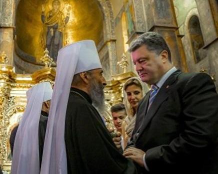 «Беспрецедентное давление Москвы». Украинские СМИ о встрече Порошенко с архиереями