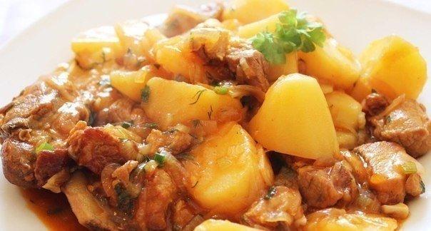 ТОП-7 рецептом приготовления мяса с картофелем