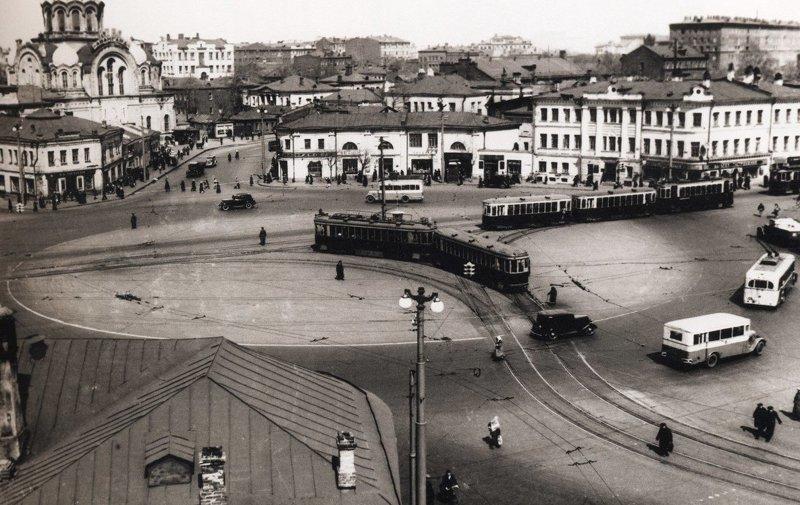 8. Калужская площадь до и после, дороги, интересно, история, столица, тогда и сейчас, фото москвы