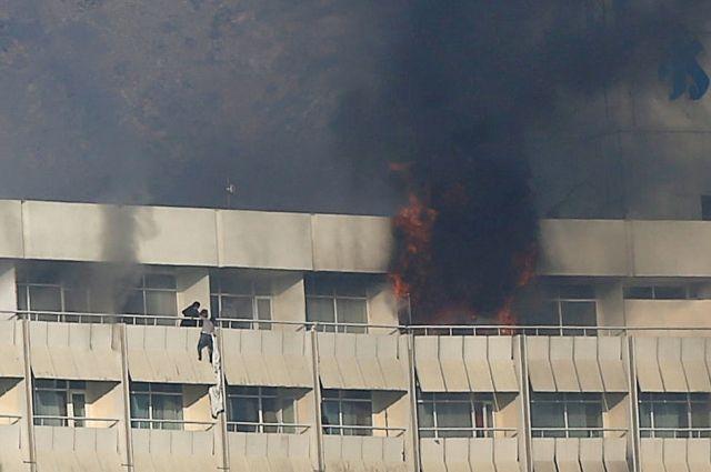 Жертвами нападения на отель в Кабуле стали 18 человек