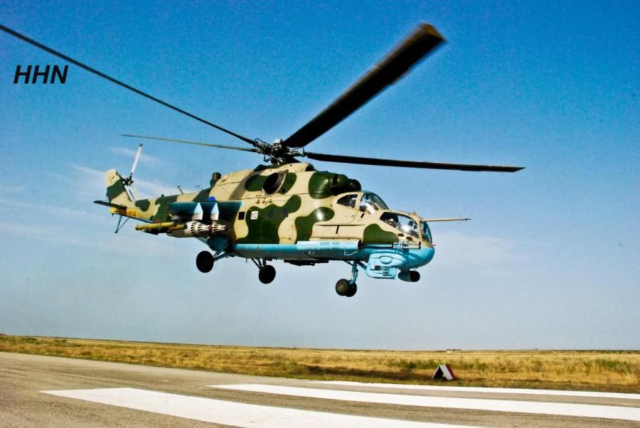Экспорт Украиной вертолетов Ми-24 в Азербайджан