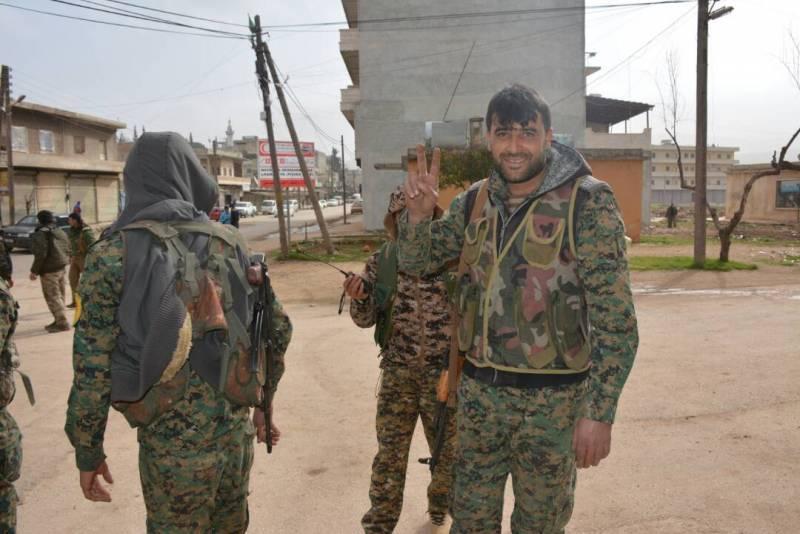 Бой под Камышлы (Сирия): САА…