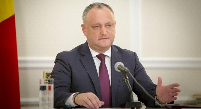 Игорь Додон вступился за рус…