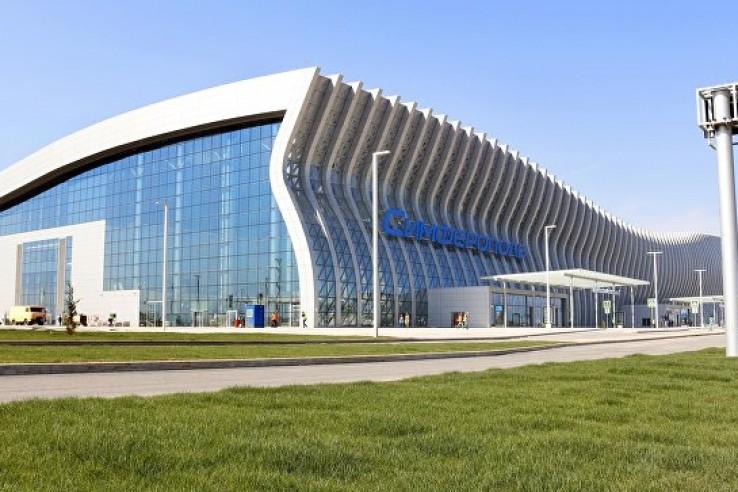 В аэропорту Симферополя выск…