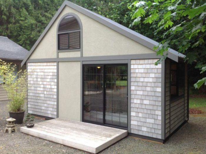 Самый уютный домик площадью всего 18 квадратных метров