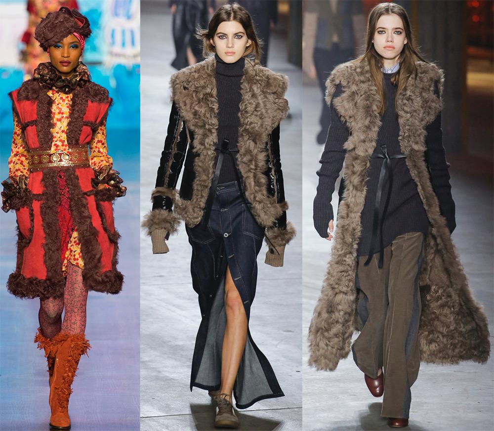 Модные дубленки сезона осень-зима 2018